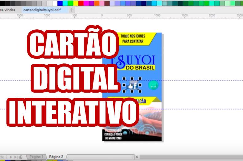 Como criar cartão de visita digital e interativo no CorelDraw?
